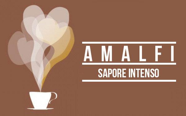 Caffè AMALFI - Sapore Intenso - NeroGusto